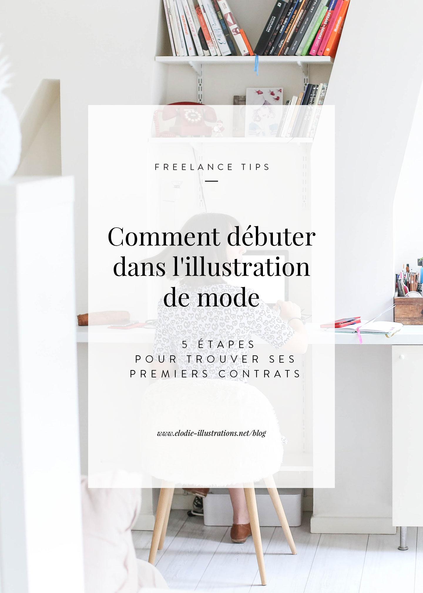 Ëlodie - Comment débuter dans l'illustration de mode en 5 étapes