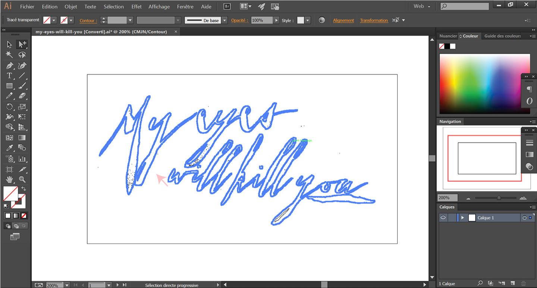 Comment vectoriser une écriture manuscrite dans Illustrator ? | Découvrez comment créer un logo à partir de votre propre écriture - Cliquez pour découvrir l'article