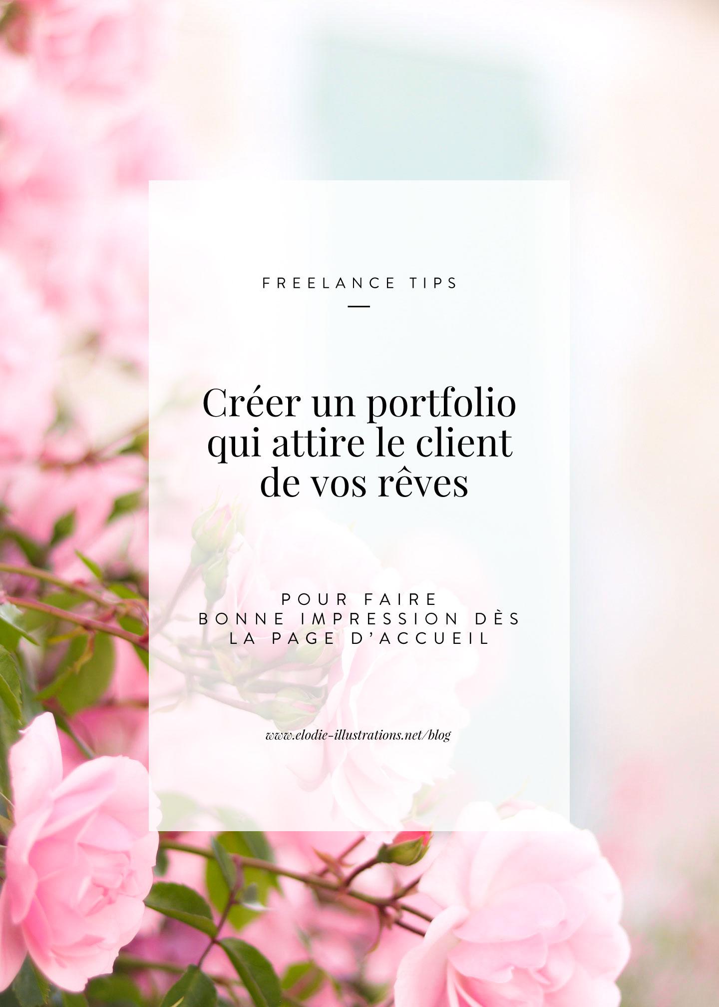 Comment créer un portfolio qui attire le client de vos rêves - Cliquez pour découvrir l'article