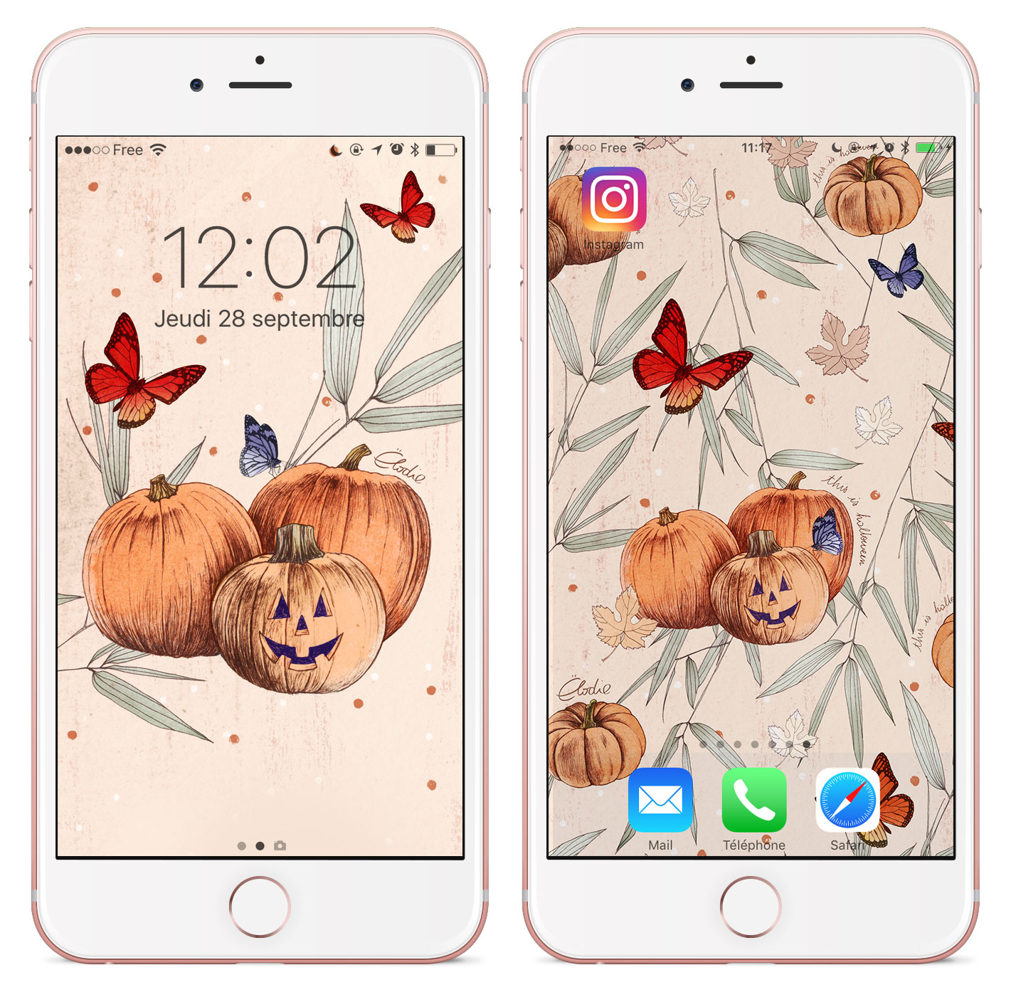 Fonds d'écran gratuits Halloween - Cliquez pour découvrir l'article