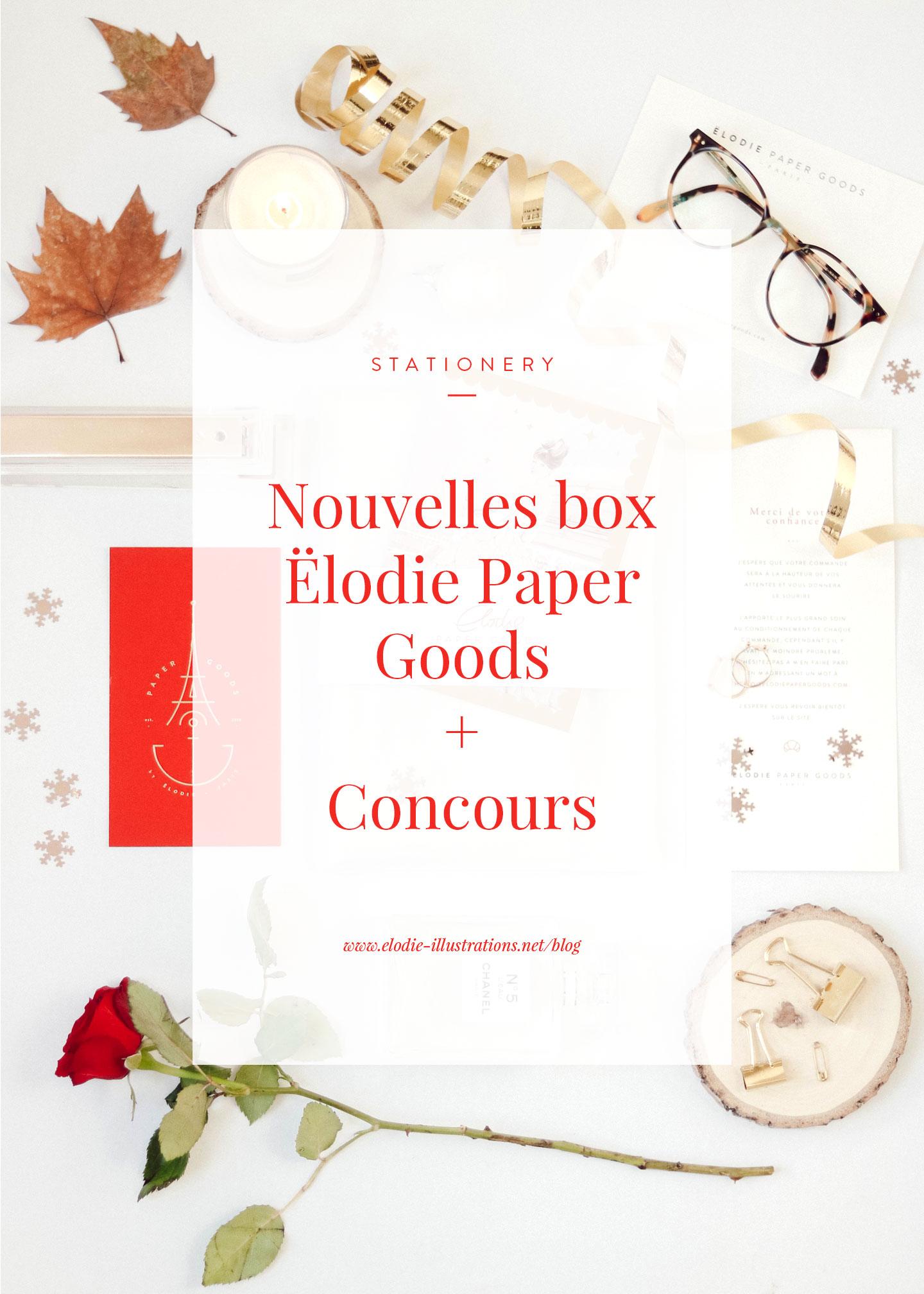 Nouvelle box Ëlodie Paper Goods dans la boutique + CONCOURS !!! - Cliquez pour découvrir l'article
