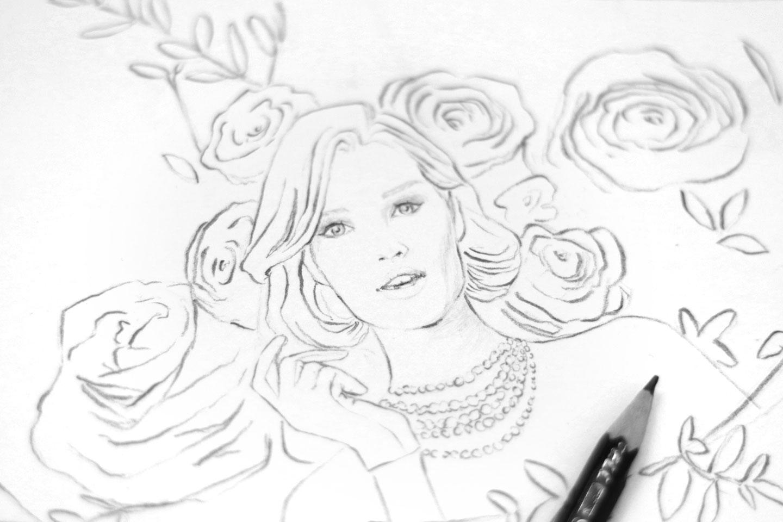 Fond d'écran gratuit La Femme Bouquet - Cliquez pour découvrir l'article