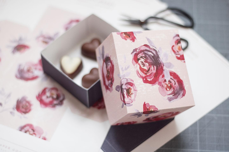 DIY Cadeau fête des mères - Boîte cadeau à imprimer | Cliquez pour découvrir l'article