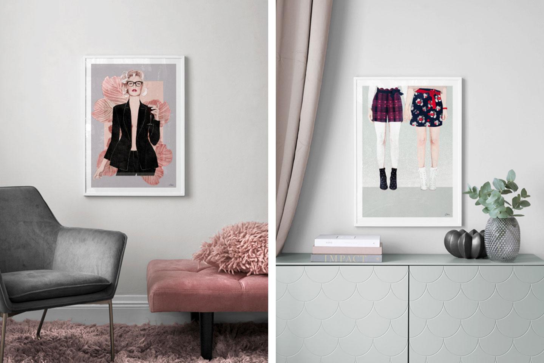 Ëlodie x Desenio : Ma collection d'affiches en collaboration avec Desenio - Cliquez pour découvrir l'article